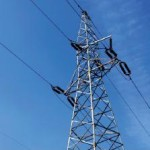 Strommast Ausschnitt